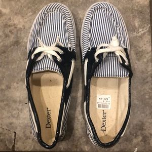 Striped Loafers